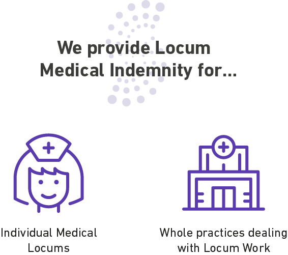 Types of Locum Medicals we Indemnify