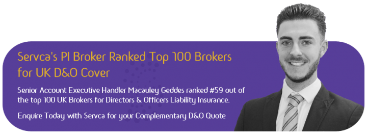 Macauley Geddes Reaches 59 out of top 100 Brokers in UK - Via Insurance Insider Rankings