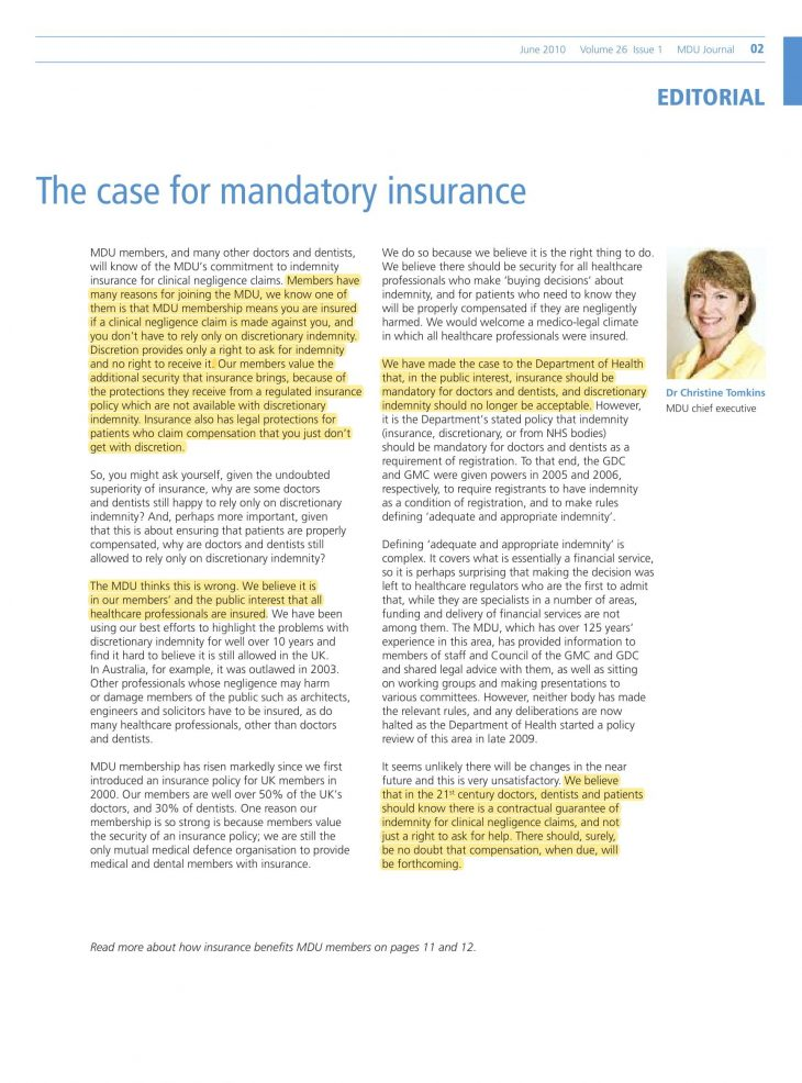 Article written by Dr Christine Tomkins